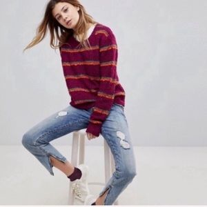 Free People Best Day Ever Sweater Small